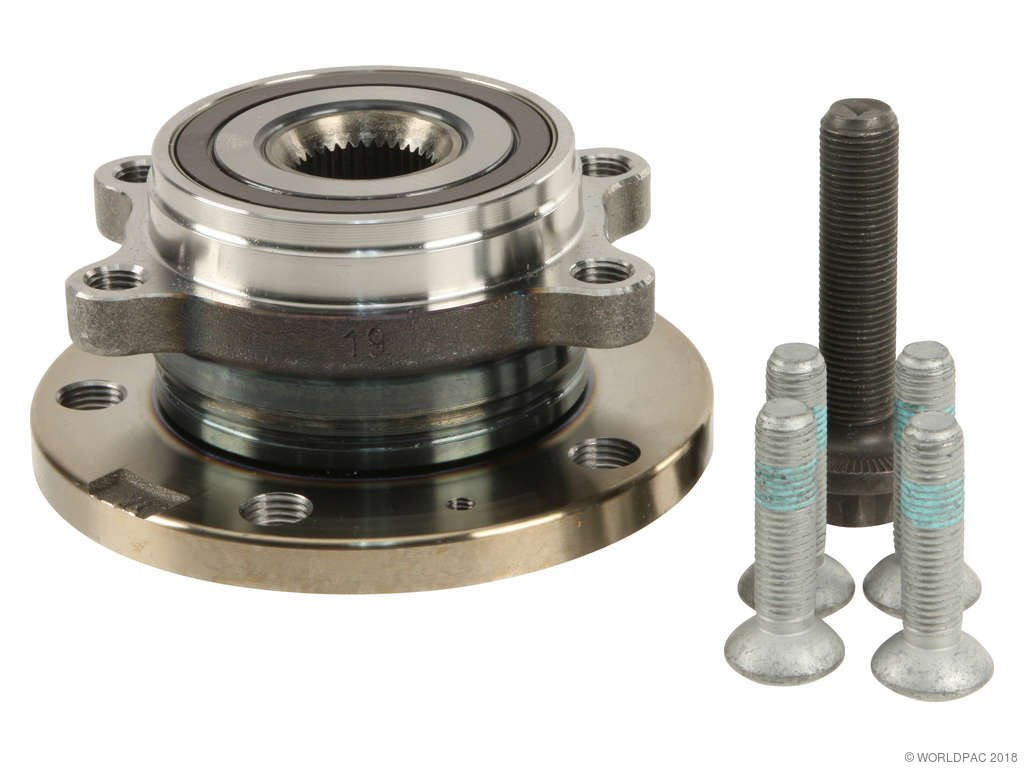 Volkswagen Passat Wheel Bearing And Hub Assembly Replacement Beck 2006 Vw Pat Engine Diagram Fag W0133 1918274
