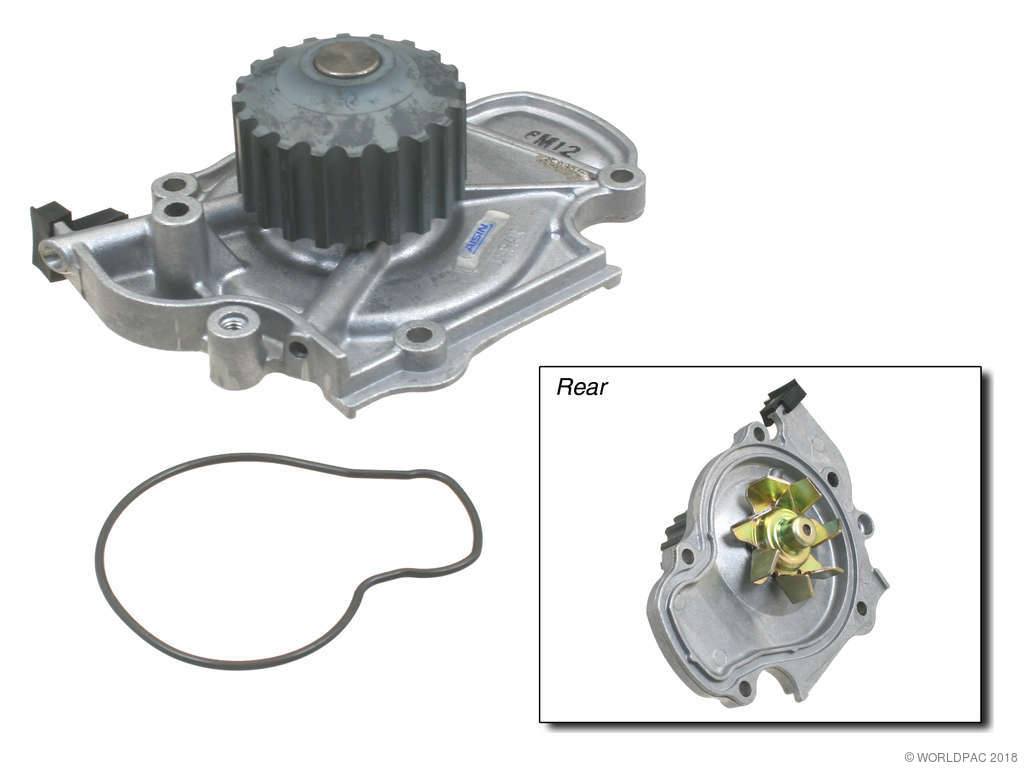 Honda Prelude Engine Water Pump Replacement Aisin Airtex 1992 Timing Belt 4 Cyl 22l W0133 1612826