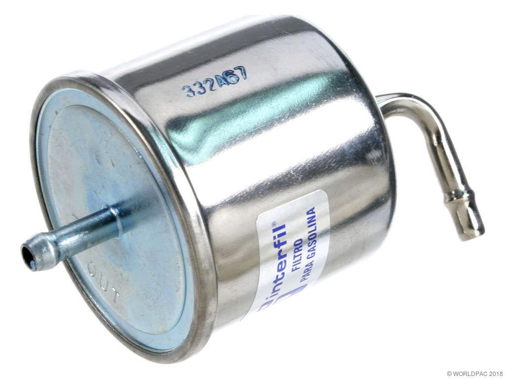 1985 Subaru GL Fuel Filter (Interfil W0133-1837518) Engine - with F/I ..