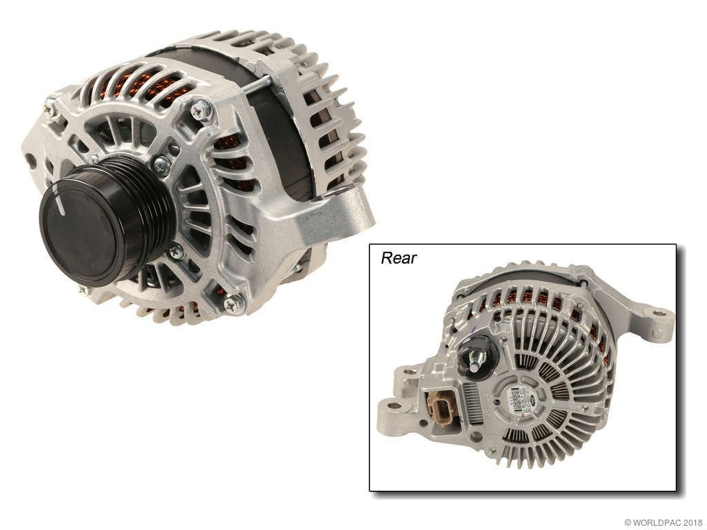 2017 Ford Escape Alternator 4 Cyl 2 0l Motorcraft W0133 1978641 W O Point Plug 150 Amp