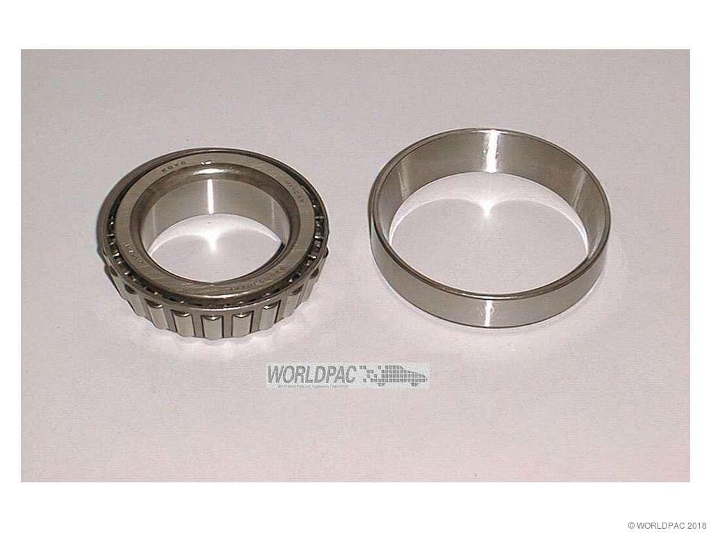 Isuzu Trooper Wheel Bearing Replacement (Beck Arnley, Koyo