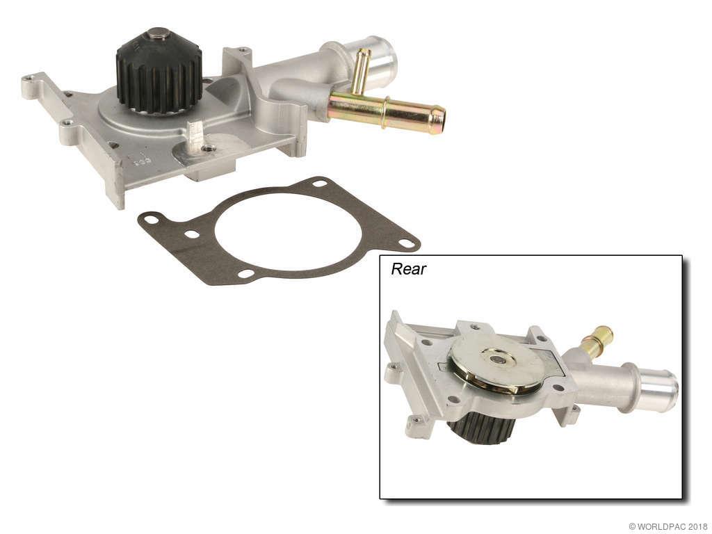 Ford Focus Engine Water Pump Replacement Airtex Aisin Beck Arnley 2012 2000 Gates W0133 1703877