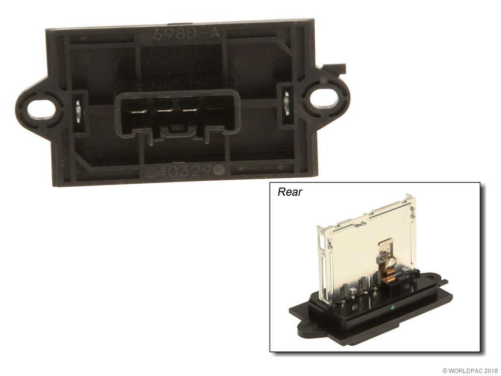 Nissan Versa HVAC Blower Motor Resistor Replacement (Four