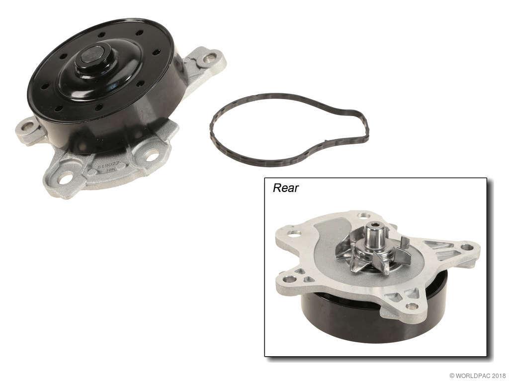 Toyota Matrix Engine Water Pump Replacement (AISIN, Airtex