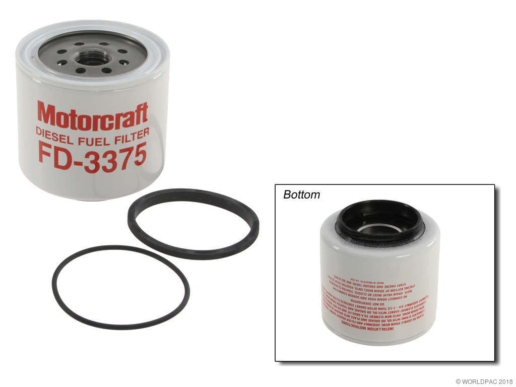 1990 Ford F Super Duty Fuel Filter 8 Cyl 7.3L (Motorcraft W0133-1700875)