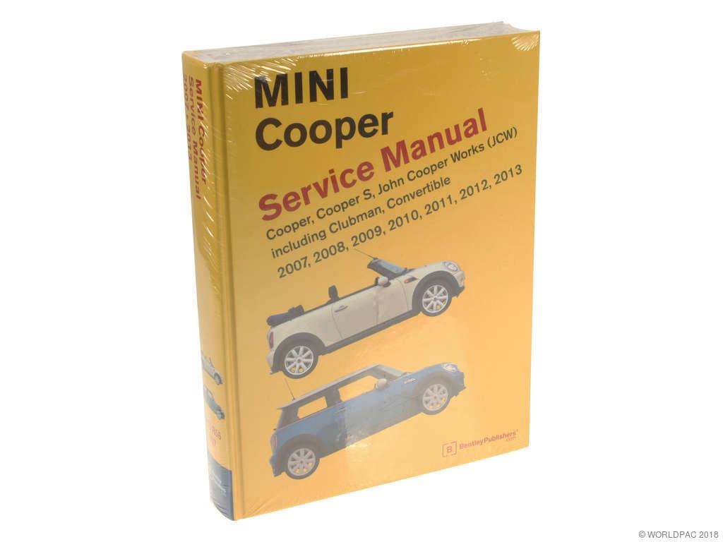 2009 mini cooper john cooper works owners manual