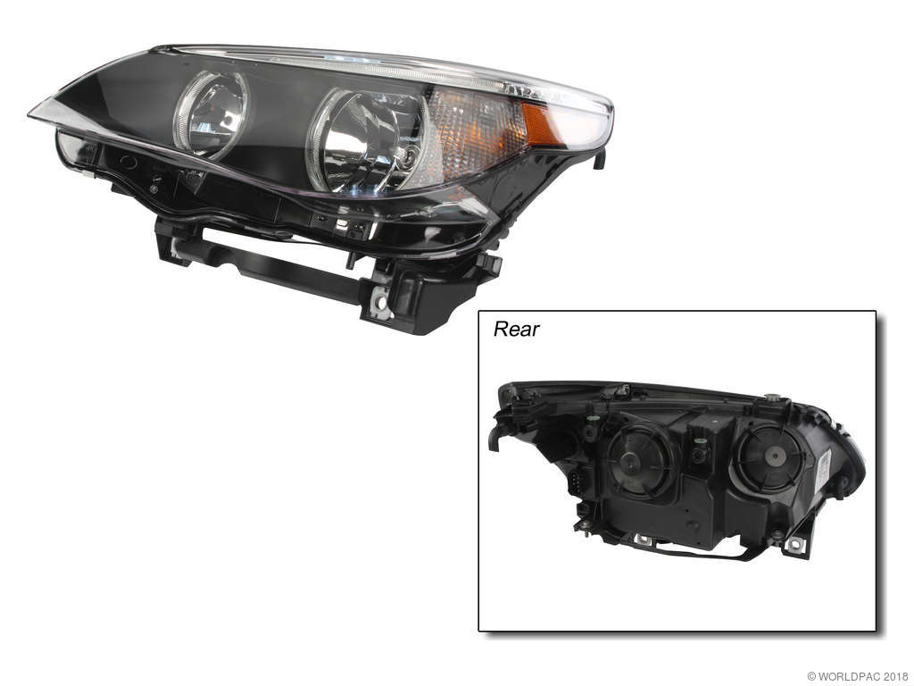 BMW 530i Headlight Assembly Replacement (Hella, TYC Products) » Go-Parts