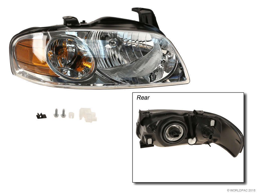 TYC 20-5907-90-1 Nissan Sentra Right Replacement Head Lamp