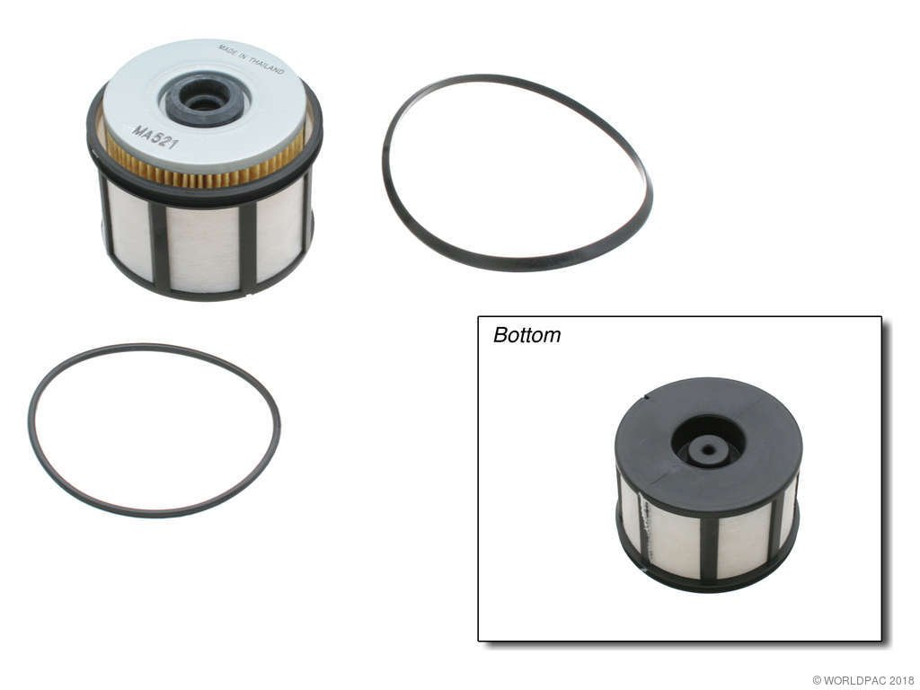 Ford E 450 Super Duty Fuel Filter Replacement Beck Arnley Fram 2003 8 Cyl 73l Full W0133 1632169 With Filer Element And O Rings