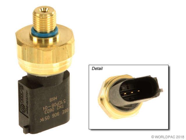 2007 Audi A4 Quattro Fuel Injection Pressure Sensor Genuine