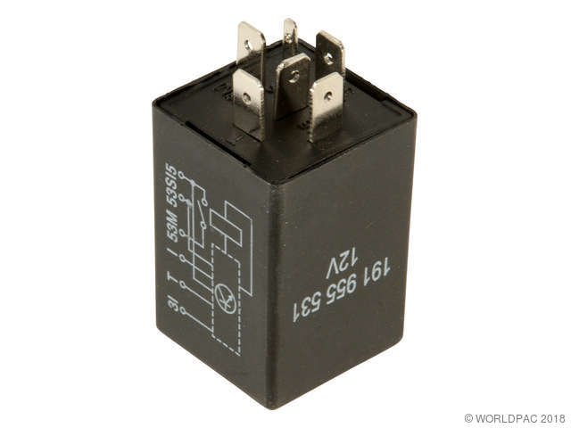 Windshield wiper motor relay replacement genuine for Windshield wiper motor relay